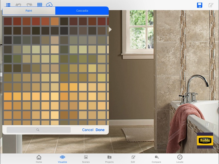 Rodda Paint Color Visualizer