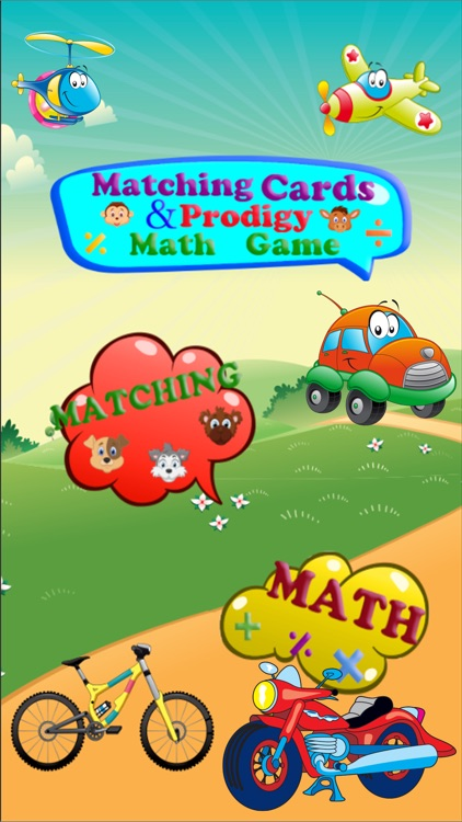 Matching cards & Prodigy Math Game
