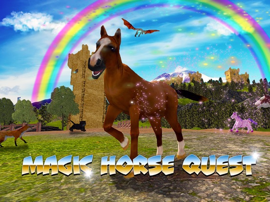 Magic Horse Quest screenshot 5
