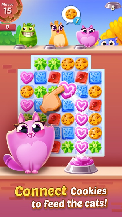 Cookie Cats - a singing puzzle adventure screenshot-0
