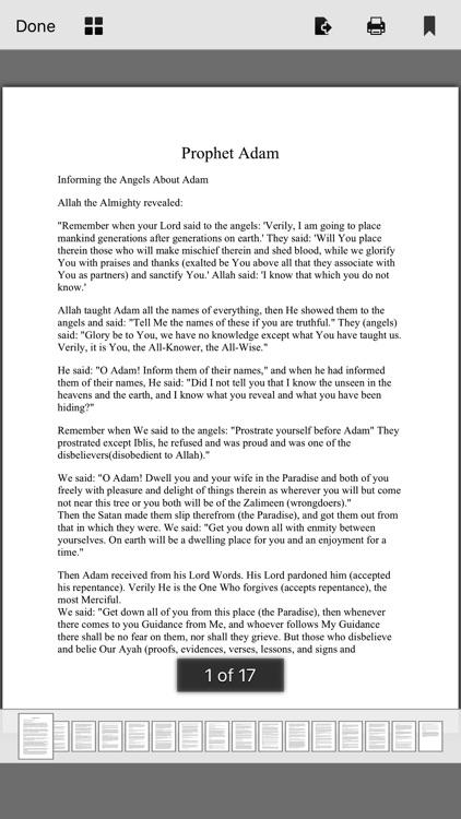 Prophet's Stories In Islam