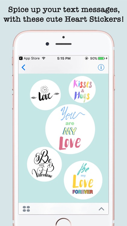 Love Quotes Stickers For iMessage screenshot-3