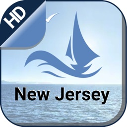 New Jersey offline nautical charts for sailing
