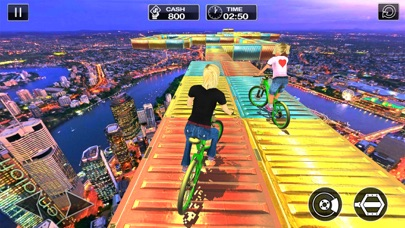 Impossible Tracks Bicycle Rider: Stunt Driver 2017 screenshot one
