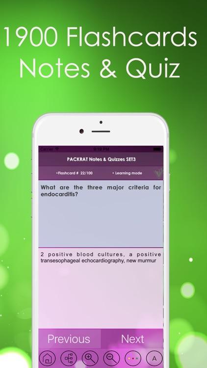 PACKRAT Test Bank – Full Exam Review : 2400 Q&A screenshot-4
