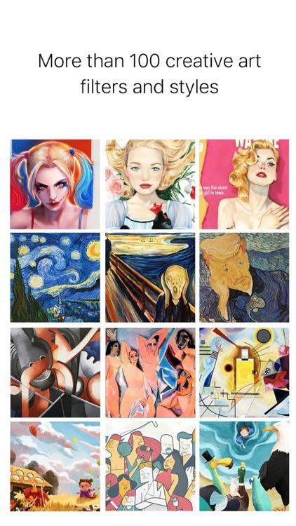 Picas - Art Photo Filter screenshot-4