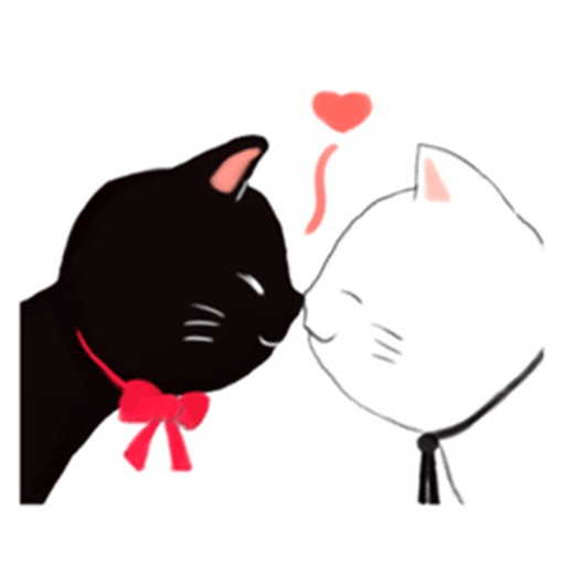 Naughty Black Cat Emoji Sticker