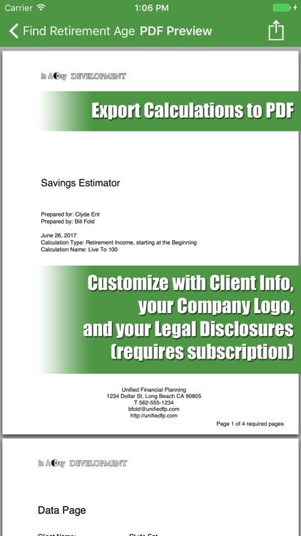 Savings Estimator screenshot-4