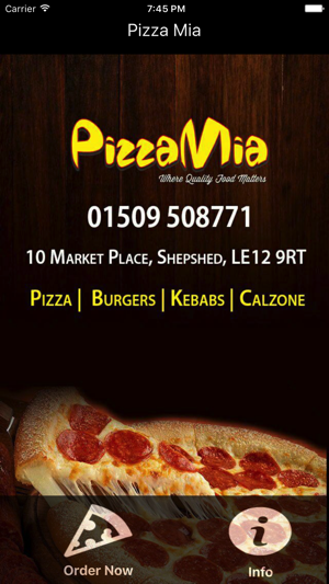 Pizza Mia Shepshed On The App Store