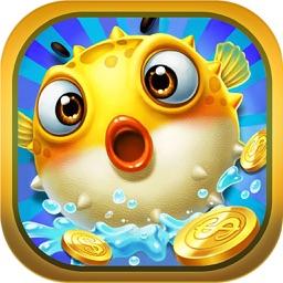 捕鱼夺宝版-经典街机电玩达人打鱼游戏