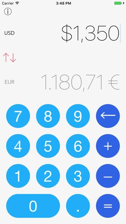 Currency Converter Pro iRocks screenshot-0
