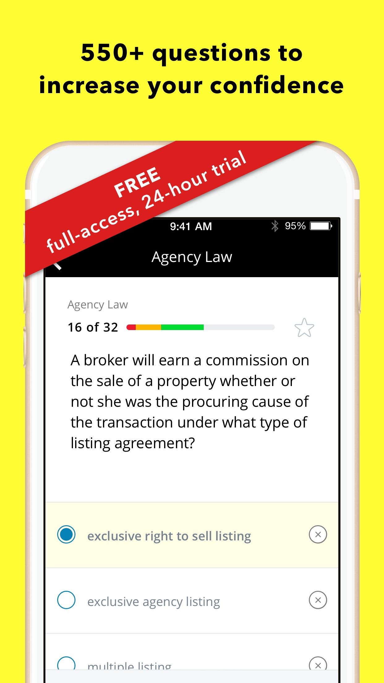 Real Estate License Exam For Dummies Screenshot