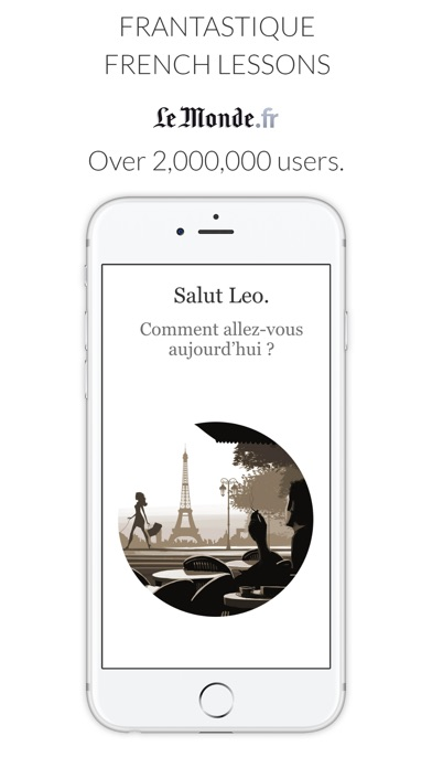 Learn French with Le Monde app image