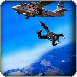 Commando Survival War Mission - Skydive Training