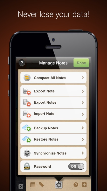 Groovy Notes for iPhone - Text & Voice Notes screenshot-3