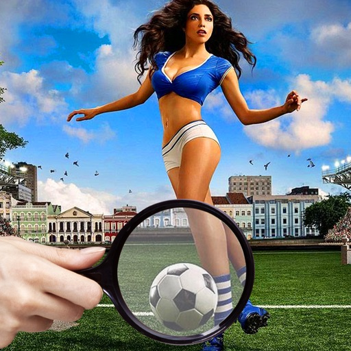 Find and Spot The Differences Football Soccer Star iOS App