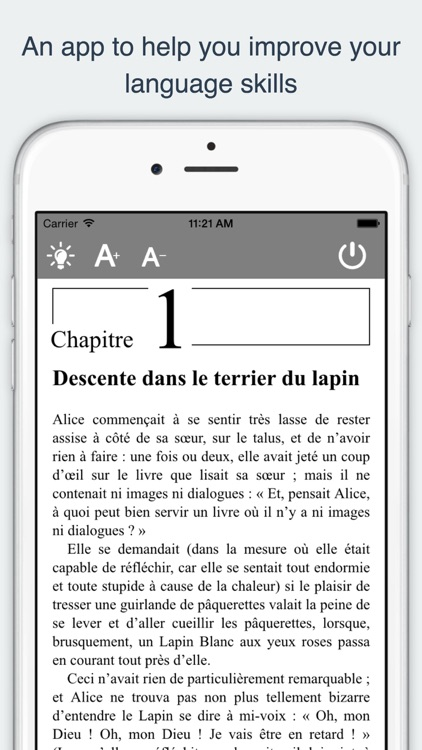 French Reading and Audio Books screenshot-3