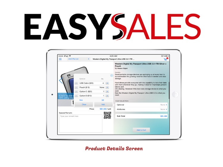EasySales Mobile Sales Ordering screenshot-3
