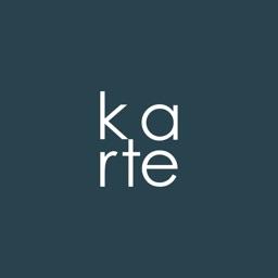 karte - flat presentation -