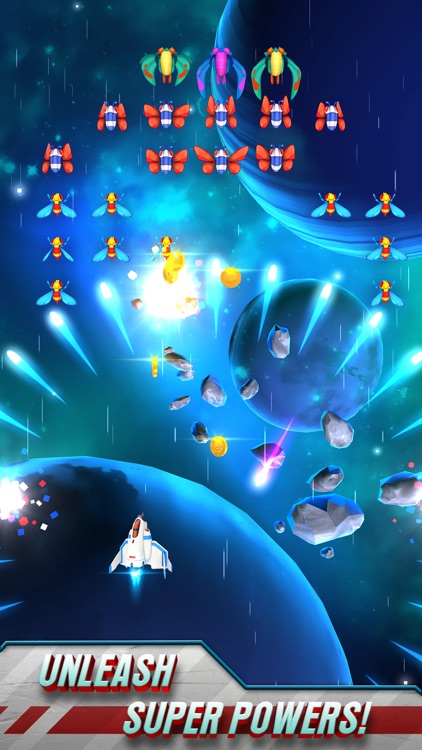 Galaga Wars screenshot-1