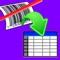 Spreadsheet barcode scanning