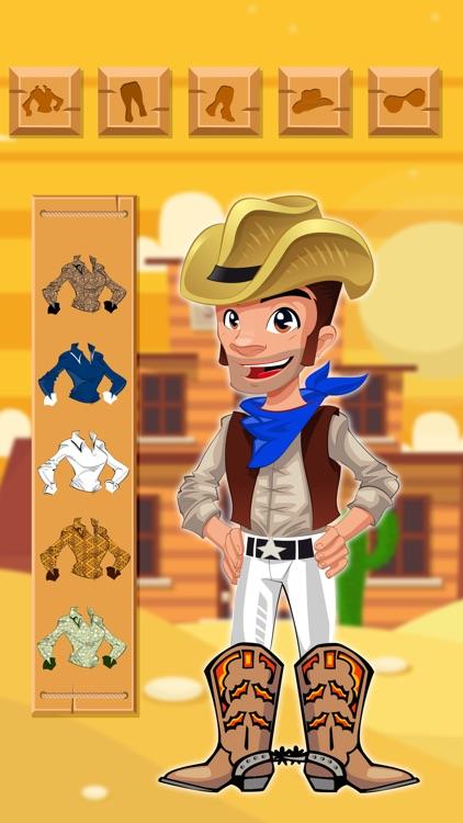 Cowboy & Cowgirl Dressup - Kids Games 2017