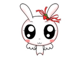 Add some funny rabbit animation stickers to your message when you want to send a personalized greeting