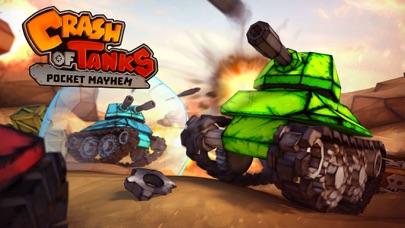 Crash of Tanks: Pocket Mayhem screenshot one
