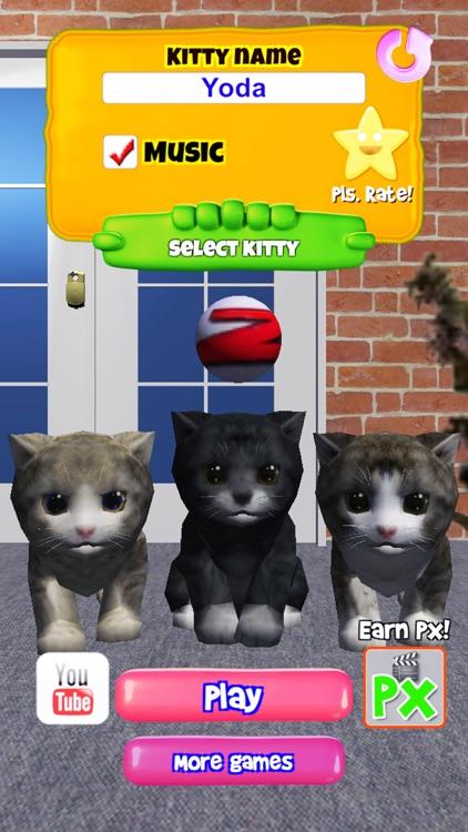 KittyZ, my virtual pet cat