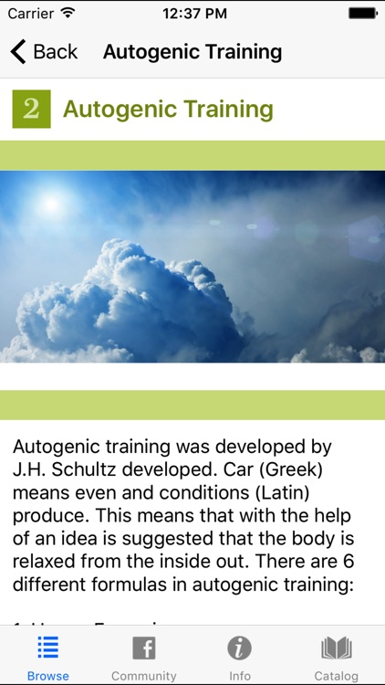 Autogenic Training Progressive Muscle Relaxation 2