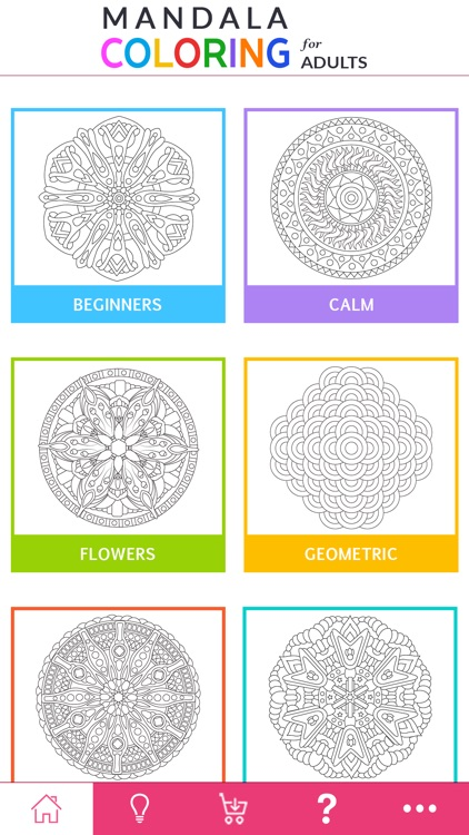 Mandala Coloring - For Adults