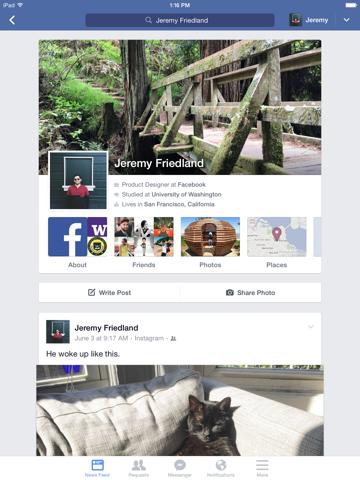 Screenshot #5 pour Facebook