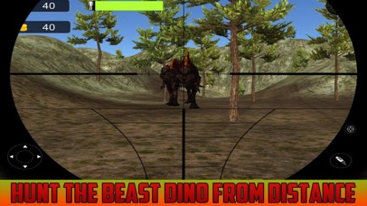 Wild Dinosaur Shoot 3D screenshot 2