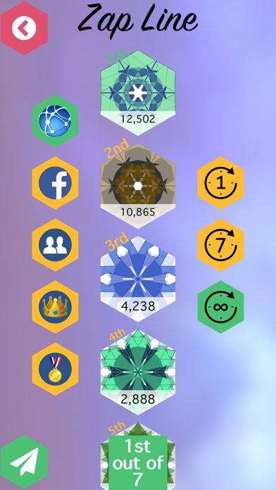 Zap Line : Connect the Ends Puzzle Game screenshot three