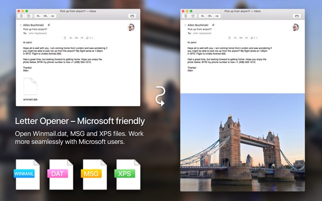 winmail reader pour mac