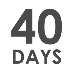 40 Day Goals - Set & track your 40 day life goals