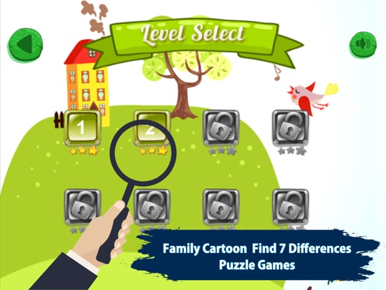 Screenshot 2 For Family Cartoon Find 7 Difference Game