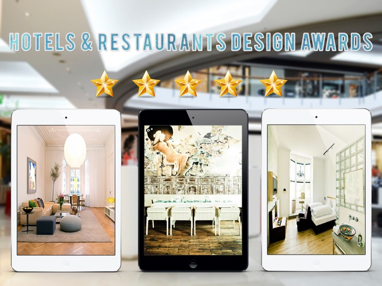 Modern Hotel & Restaurant Design Ideas for iPad screenshot-1