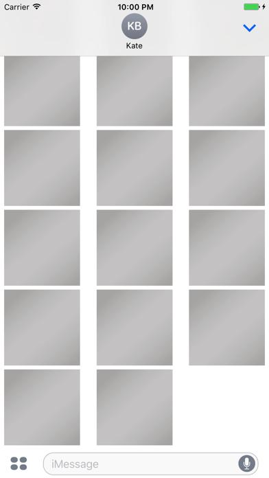 スクラッチのステッカー 一文字のスクリーンショット3