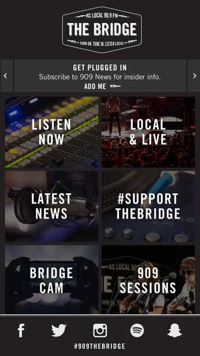 Bridge 90.9 - KTBG screenshot 1