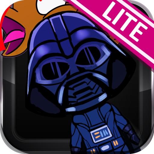 Chibi Heroes Hitter on Galaxy Star Lite Game