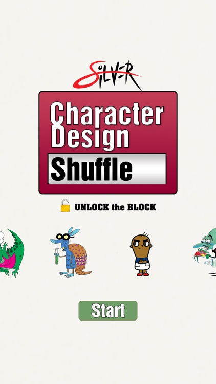 Character Design Shuffle By Silver