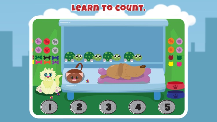 Learn to count numbers with Teacher TIlly screenshot-1