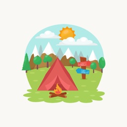 Camping - Stickers for iMessage
