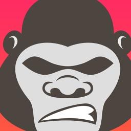 GorillaMoji Sticker Pack