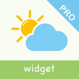 Thermometer Pro - Weather Widget with clock