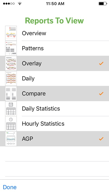 Dexcom CLARITY Reports screenshot-3