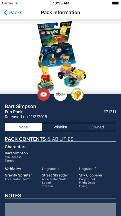 My Collections: LEGO Dimensions Ed.