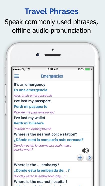 Spanish Dictionary Elite screenshot-3