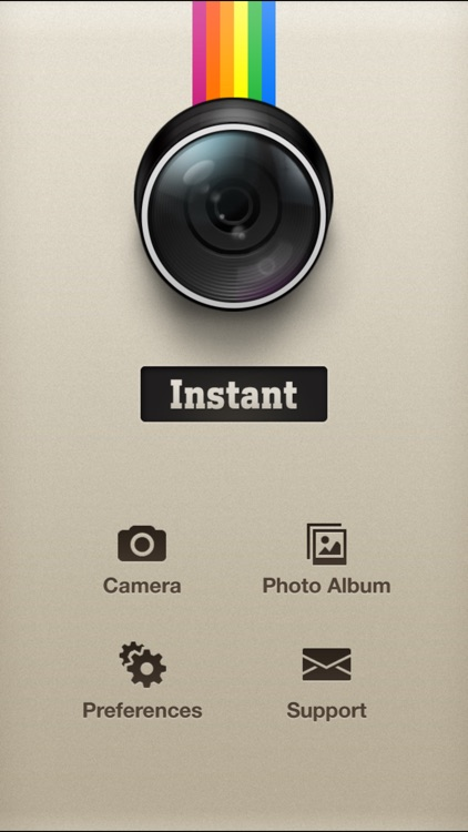 Instant: The Polaroid Instant Camera screenshot-0